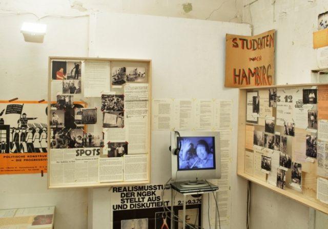 """Exhibition view. Valdis Āboliņš, Kristīne Alksne, """"Scores"""", 2013"""