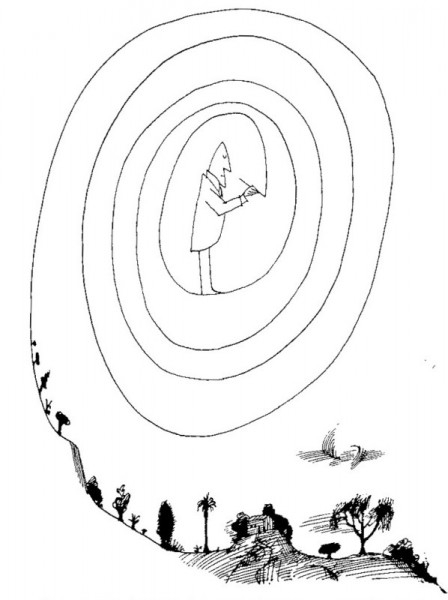 Saul Steinberg, Untitled, 1964
