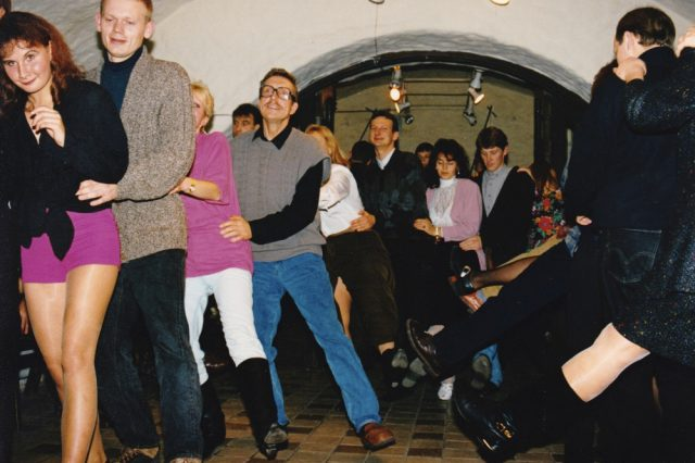 ILLEGAARD Gallery in 1993, from Sirje Ginter photo collection