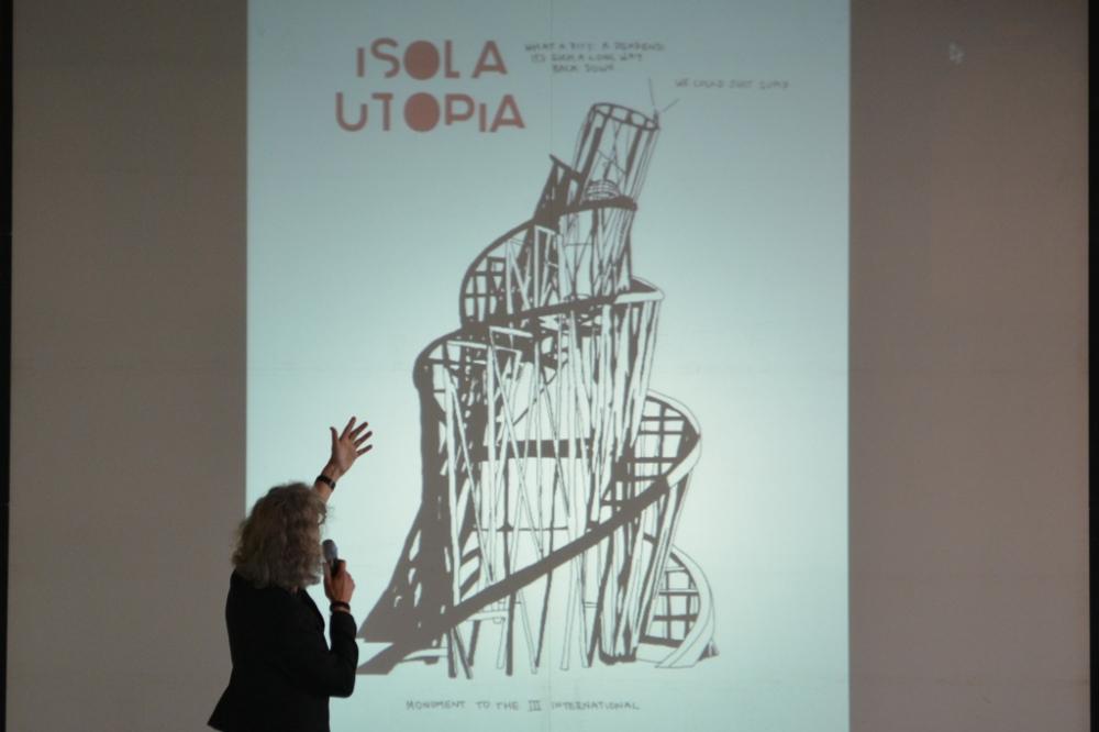 Bert Theis and the Isola Utopia