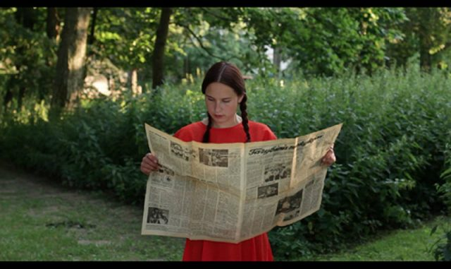 Eglė Ambrasaitė, Imagining the Absence, video still, 2014, ©Museum Aikas Zado Live
