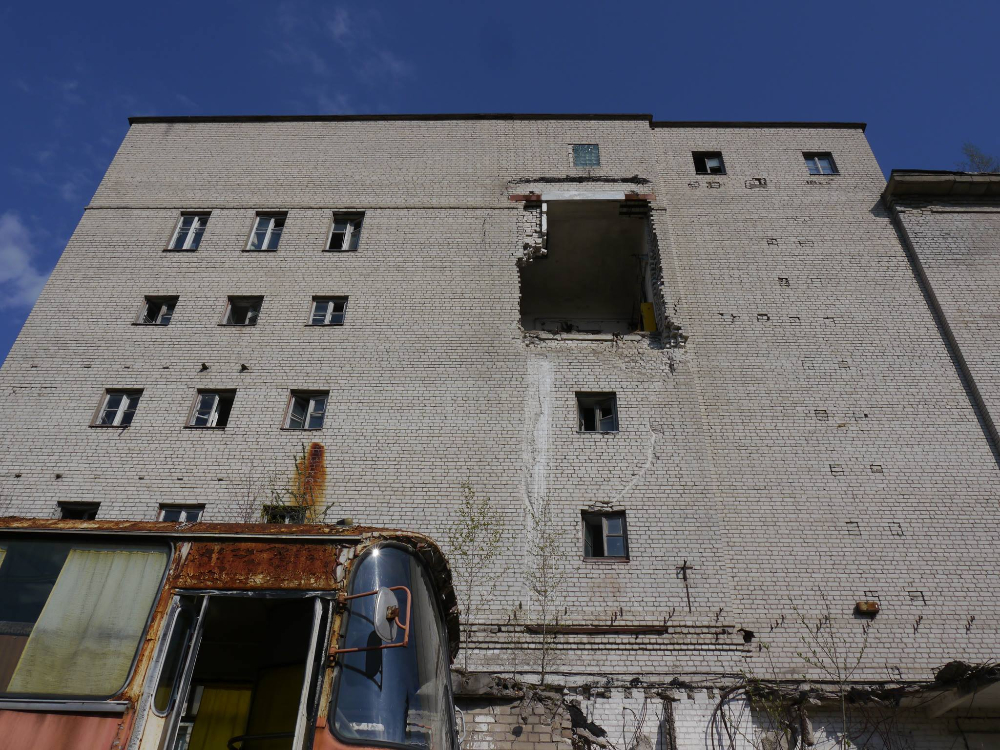 Former meat factory in Vilnius. Photograph by Andrius Seliuta von Rath