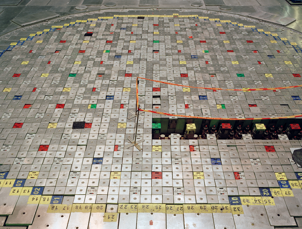 David Grandorge, Decommissioned Ignalina Nuclear Power Plant Unit 1 Reactor, 2015