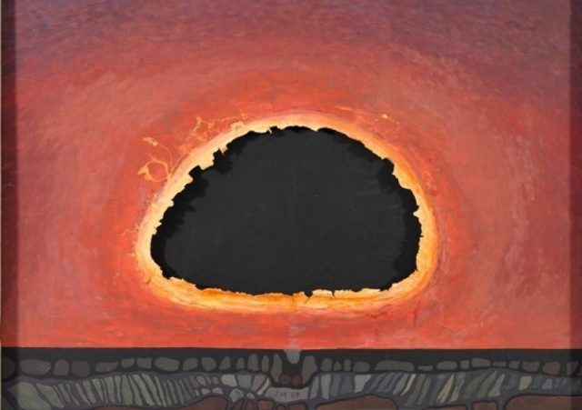 Ilmar Malin. Fading Sun. 1968. Art Museum of Estonia