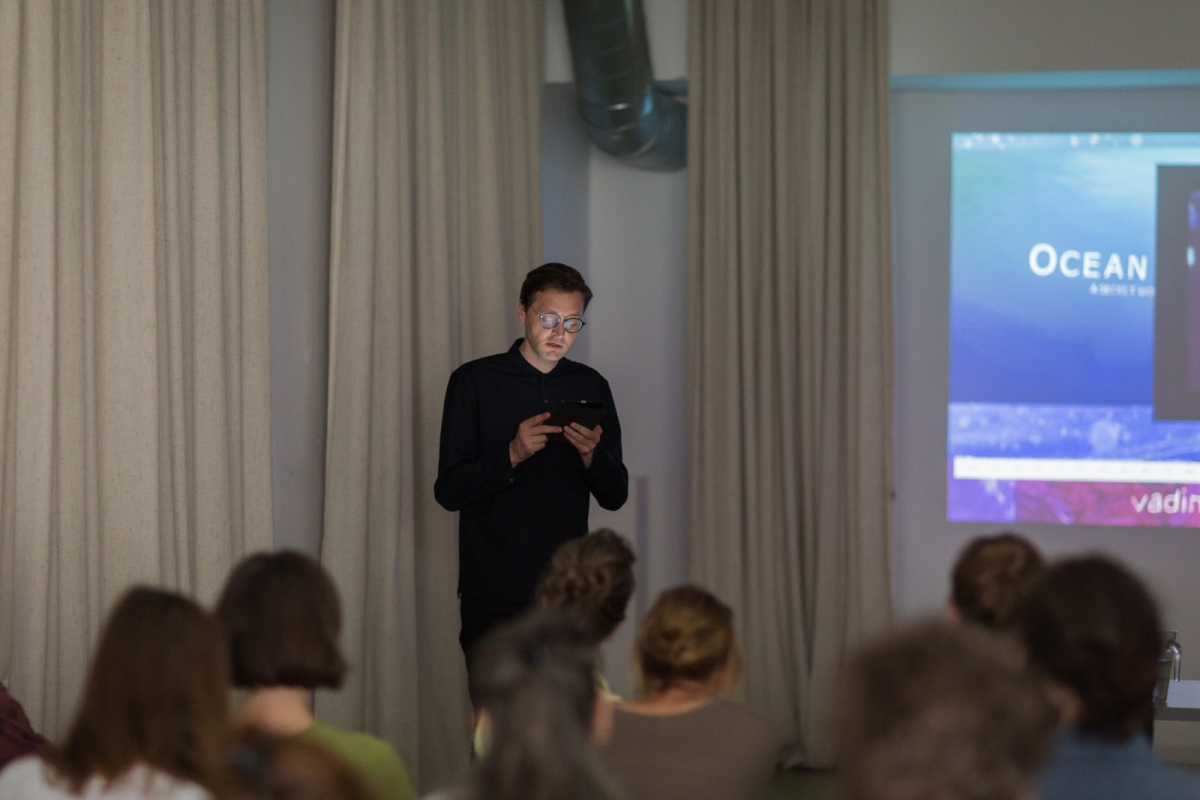 Valentinas Klimašauskas (LT) Screening and discussion A Theory of the Plankton""