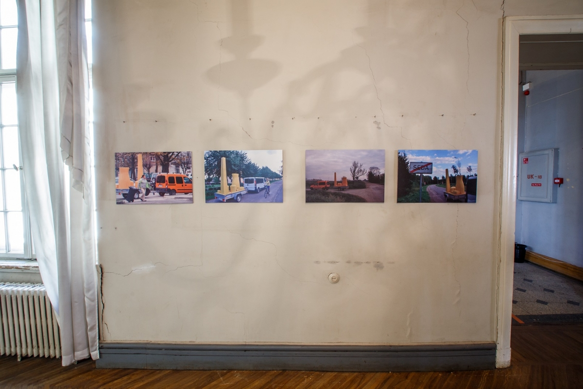 "Juozas Laivys, photo documentation ""SEDA (LT, 2011) = SEDA (LV, 2016)"