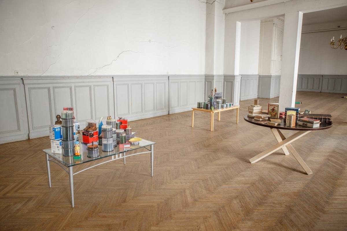 "Kaspar Müller, installation ""Frankfurt Freakout"", 2016"