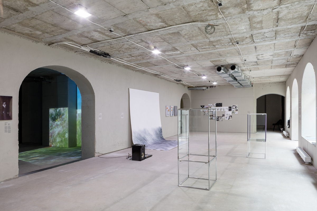 Exhibition view, 2006. Photography: Reinis Hofmanis