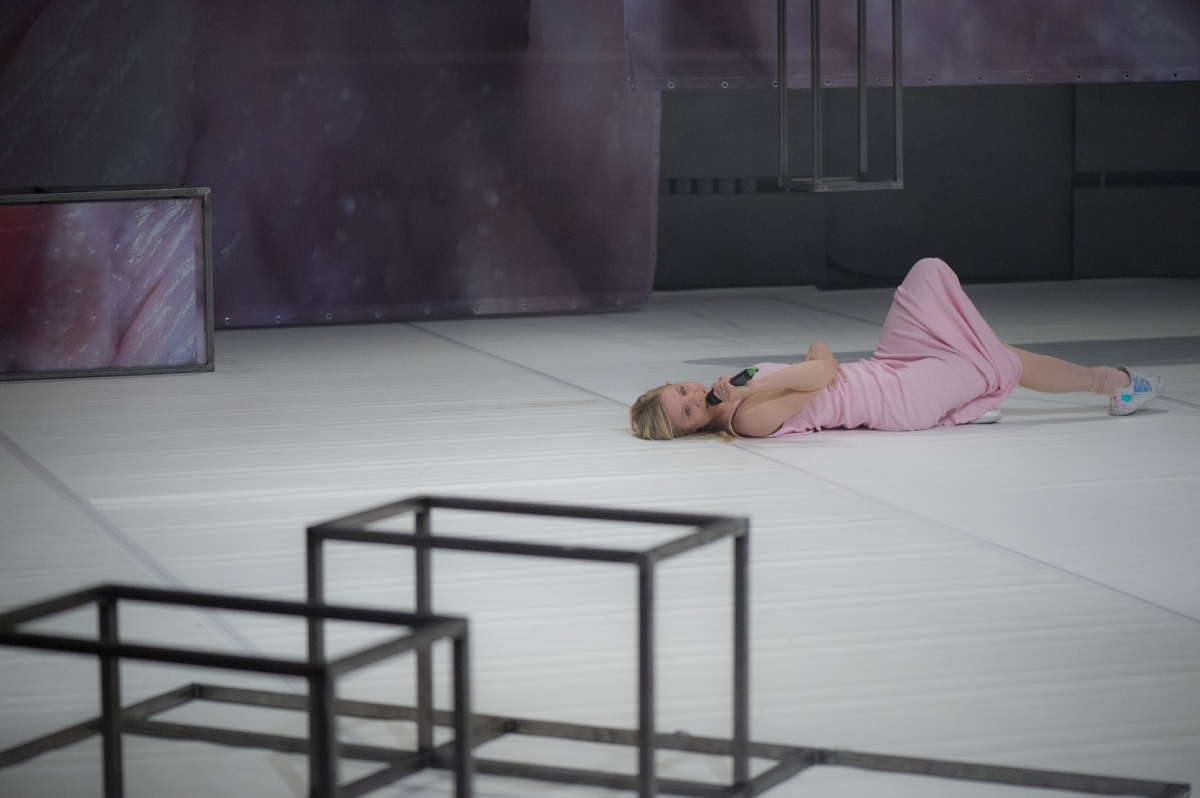 Maria Metsalu, Fuchsia. Nu Performance Festival, 2016. Photo: Silvia Pärmann