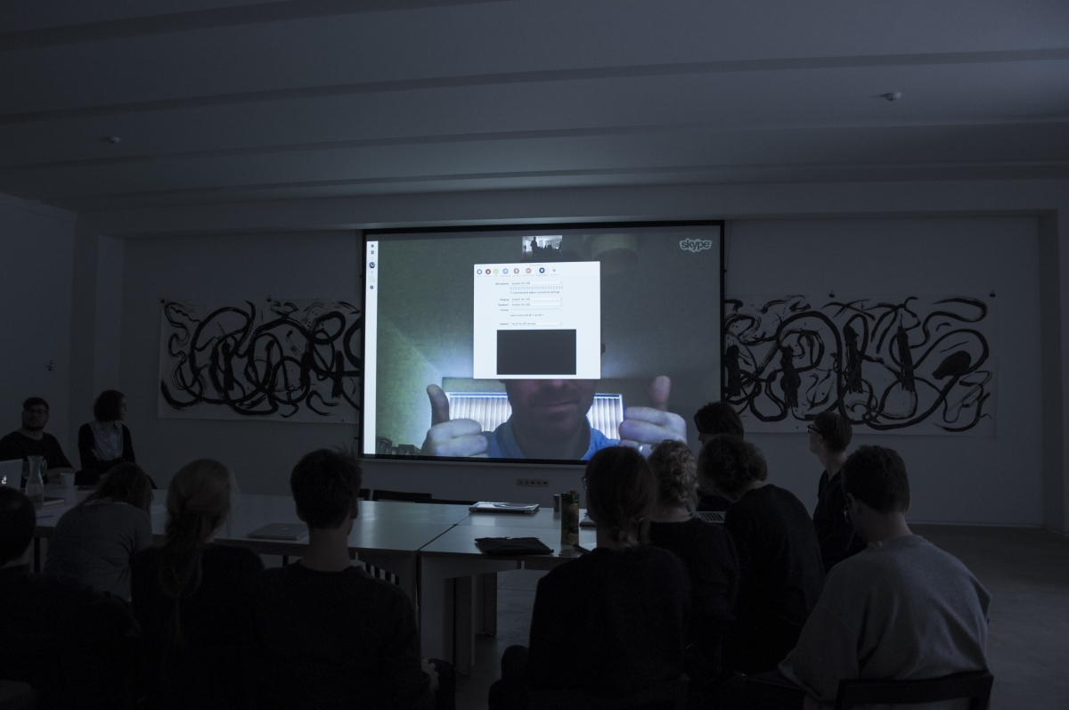 Unthinkable Nomos Workshop. November 6th, 2016, Rupert. Photo: Monika Janulevičiūtė