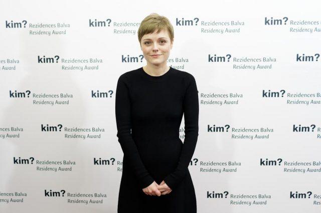 """kim? Residency Award 2017"" winner Ieva Kraule"