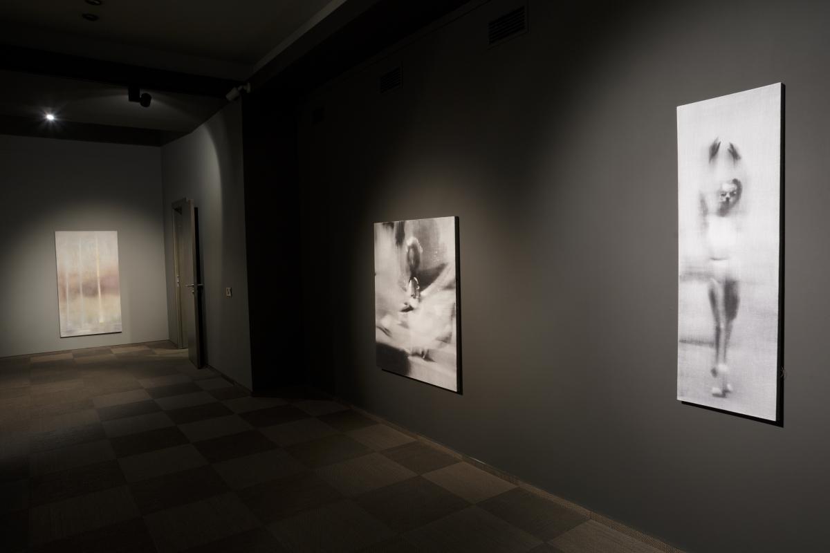 Jānis Avotiņš, Wanderers in Space-time, exhibition view, Mūkusala Art Salon, 2017. Photo: Andrejs Strokins