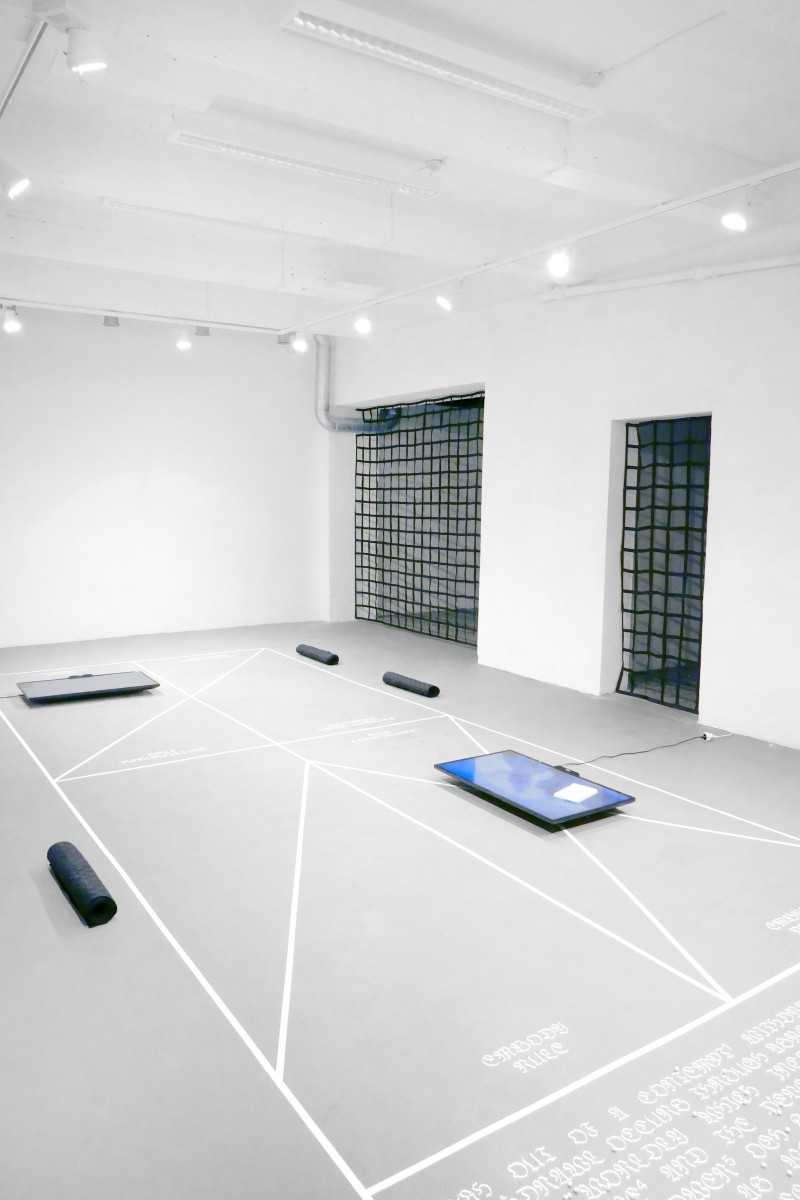 'Zones of Indistinction', exhibition view. Photo: OGH