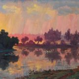 Antanas Žmuidzinavičius. Approaching Evening Storm, 1937