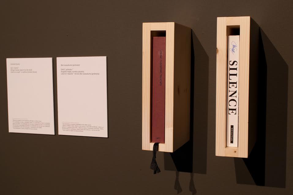 Arturs Bērziņš 'Untitled (book)'. 2014. Photo: Didzis Grodzs