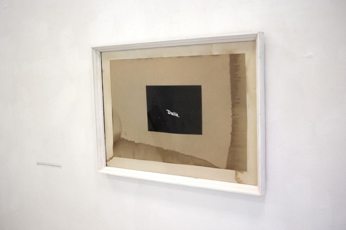 """Dailė"" (Fine-art), digital photography, old frame, 2017"
