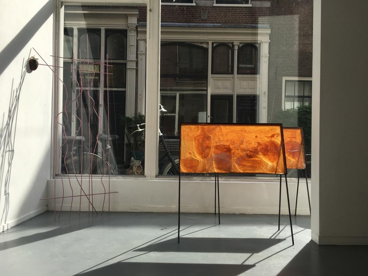 Offerings (rubber, steel), 2017, Gorgoneion's gaze, Stigter van Doesburg, Amsterdam