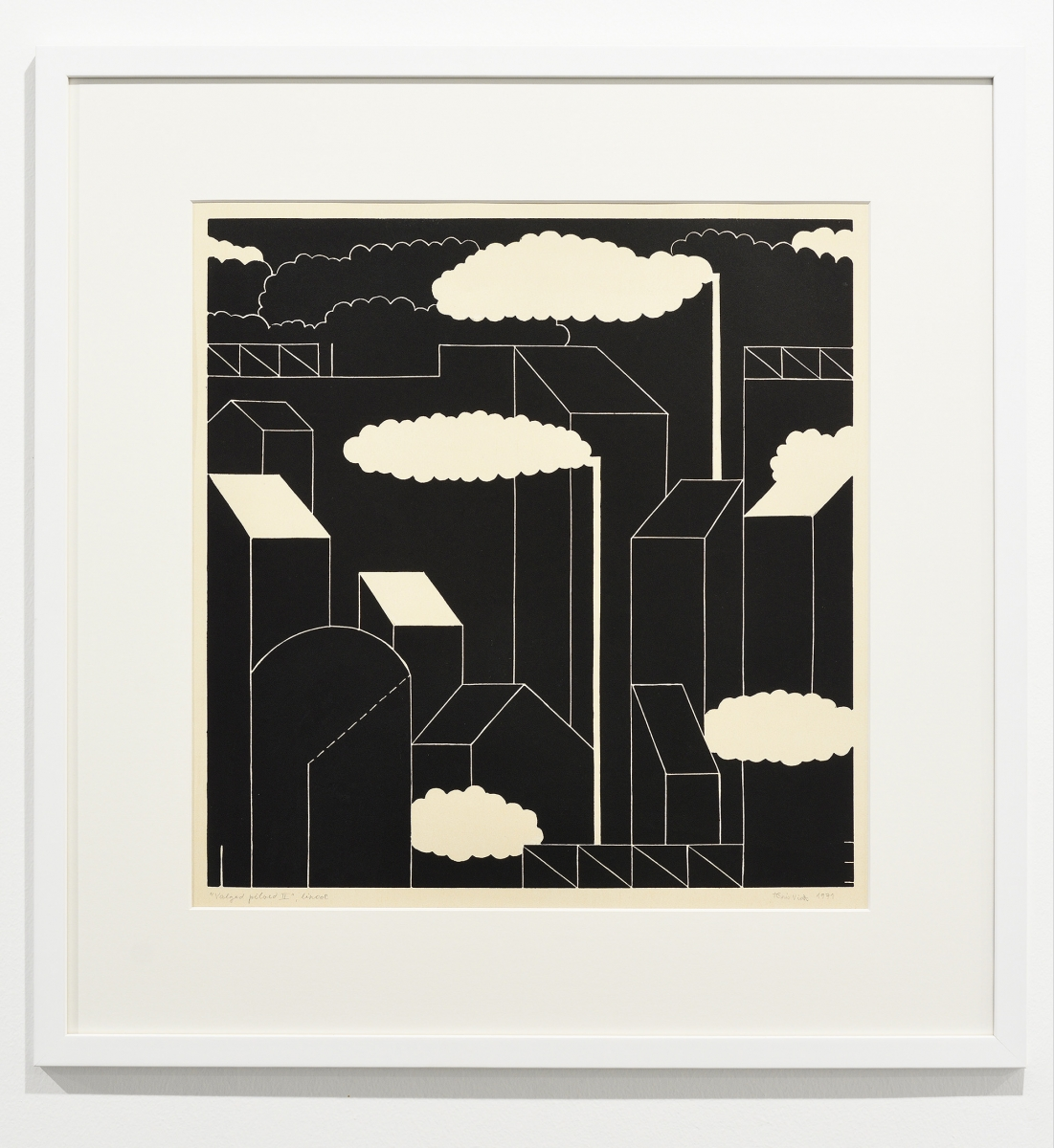 Tõnis Vint, White clouds II, 1971