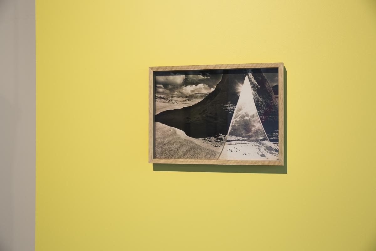 Virgilijus Šonta, Black Hill, silver gelatin print on resin coated paper, 30.5 × 42.5 cm, 1985