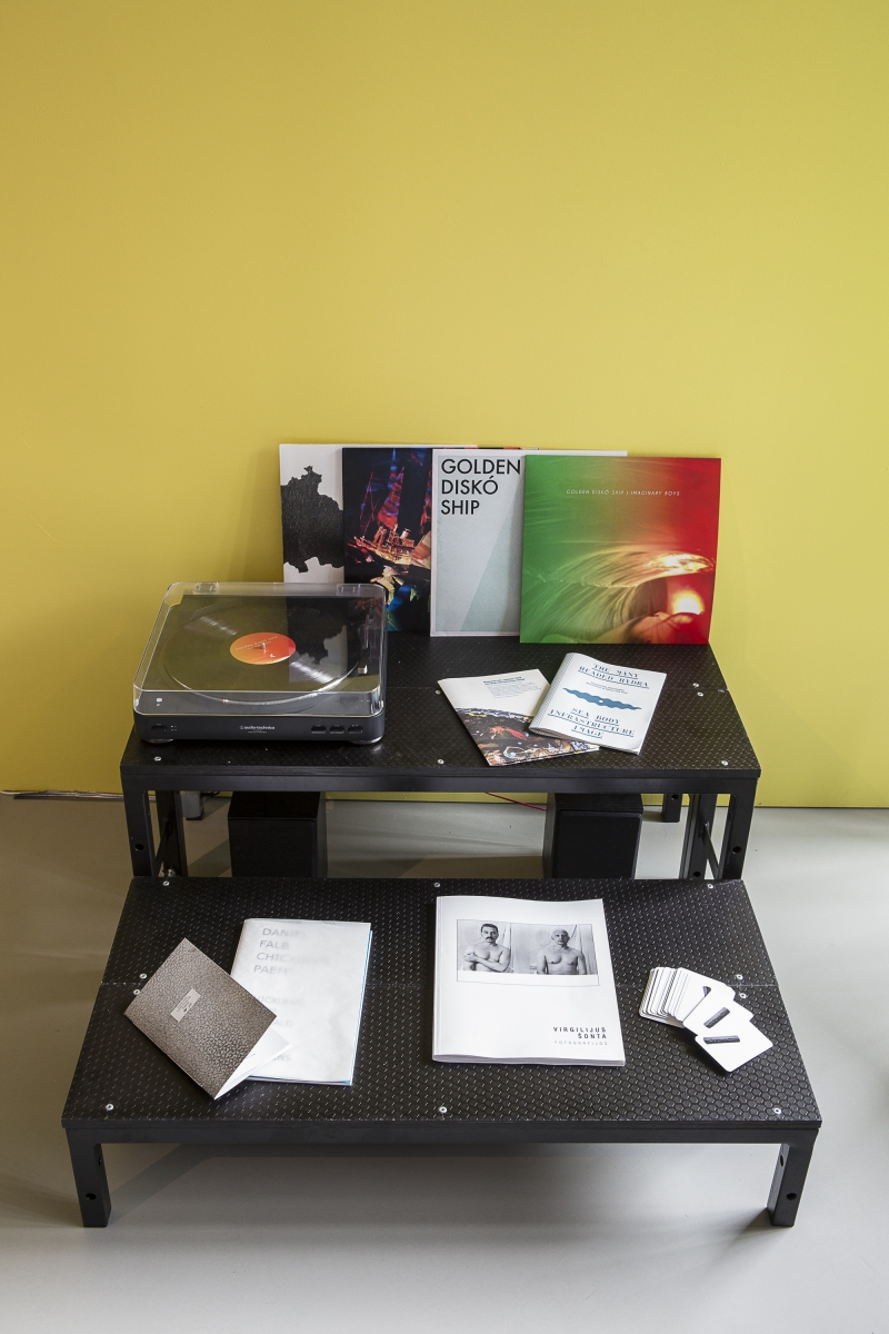 Golden Diskó Ship, Imaginary Boys, Invisible Bonfire, Prehistoric Ghost Party, 3 Vinyl LP's, 2017, 2014, 2012