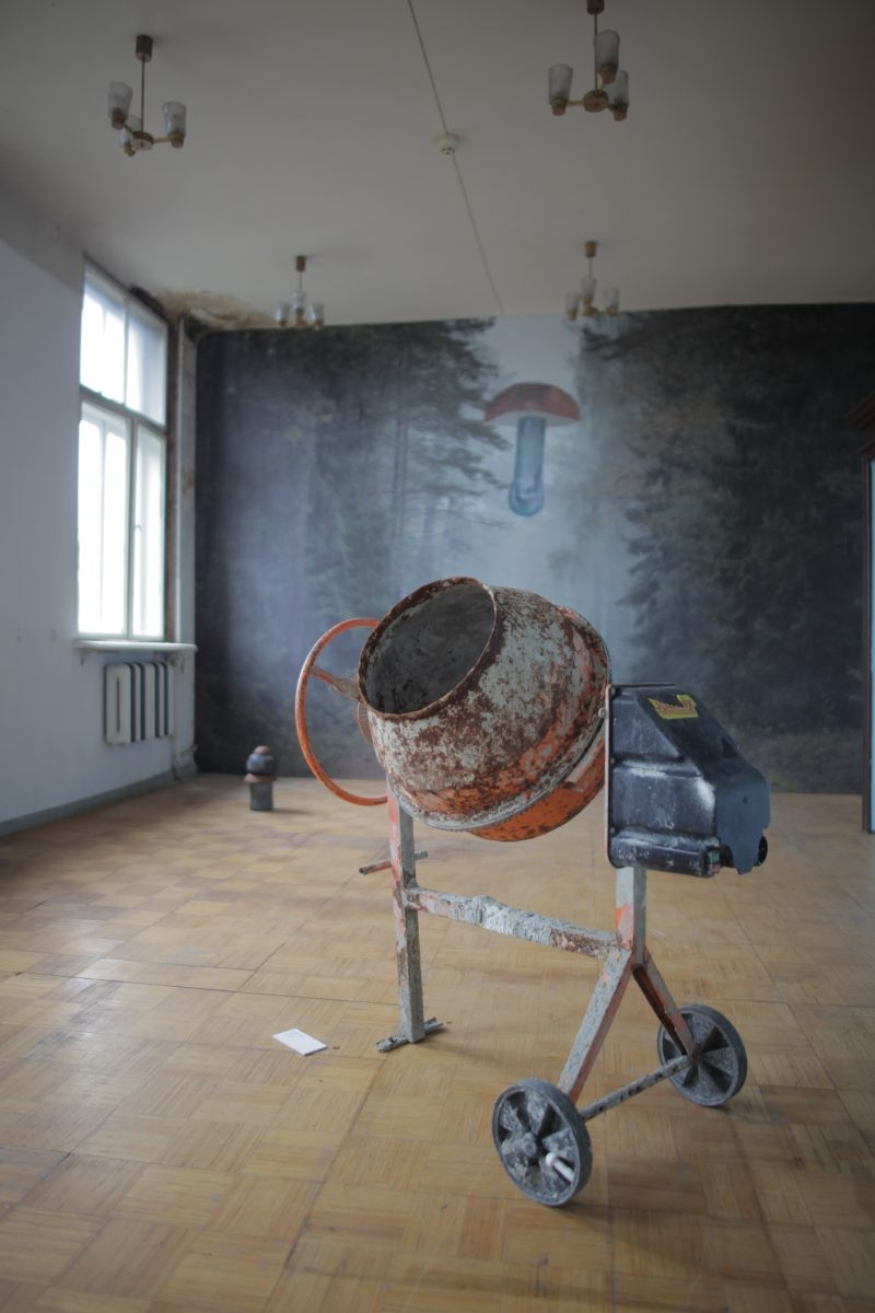 Andrej Polukord. The Sarcophagus (II). Installation, 2017