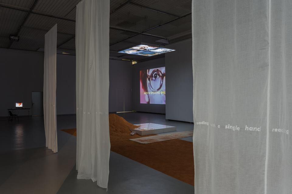 Installation view, 2017. Photo: Andrej Vasilenko