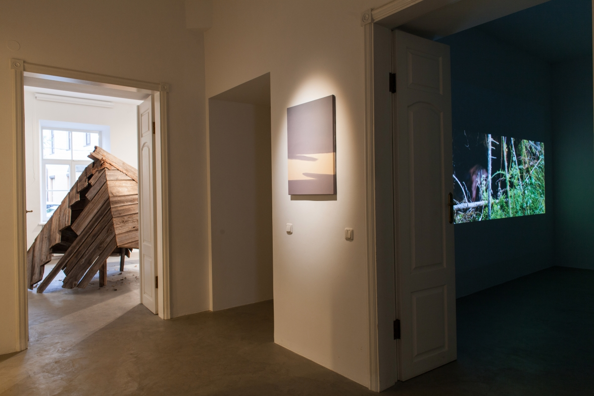 Andris Eglitis&Katrina Neiburga_exhibition view Pickled Long Cucumbers_