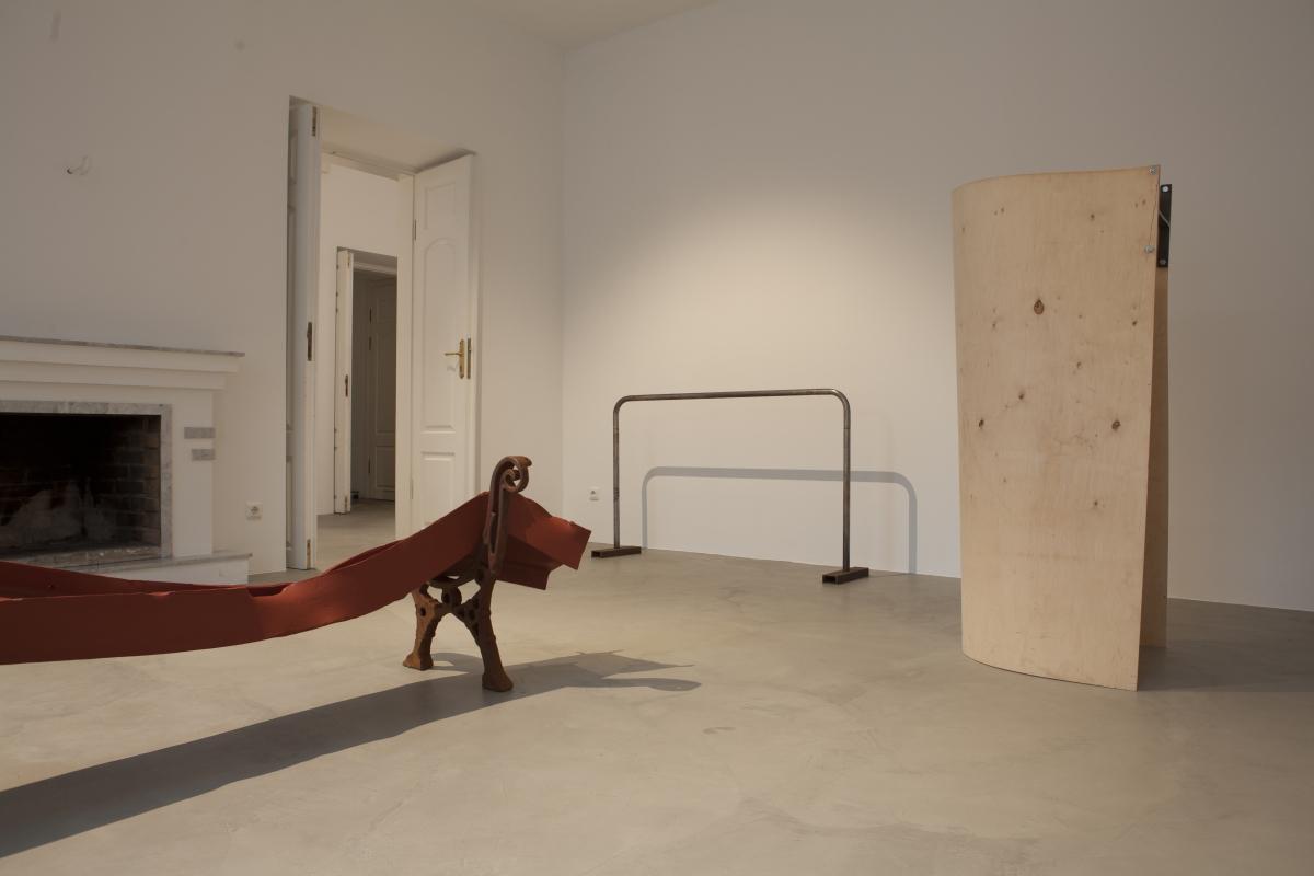 Fragment from Rimantas Milkintas exhibition _Almost noon_ II
