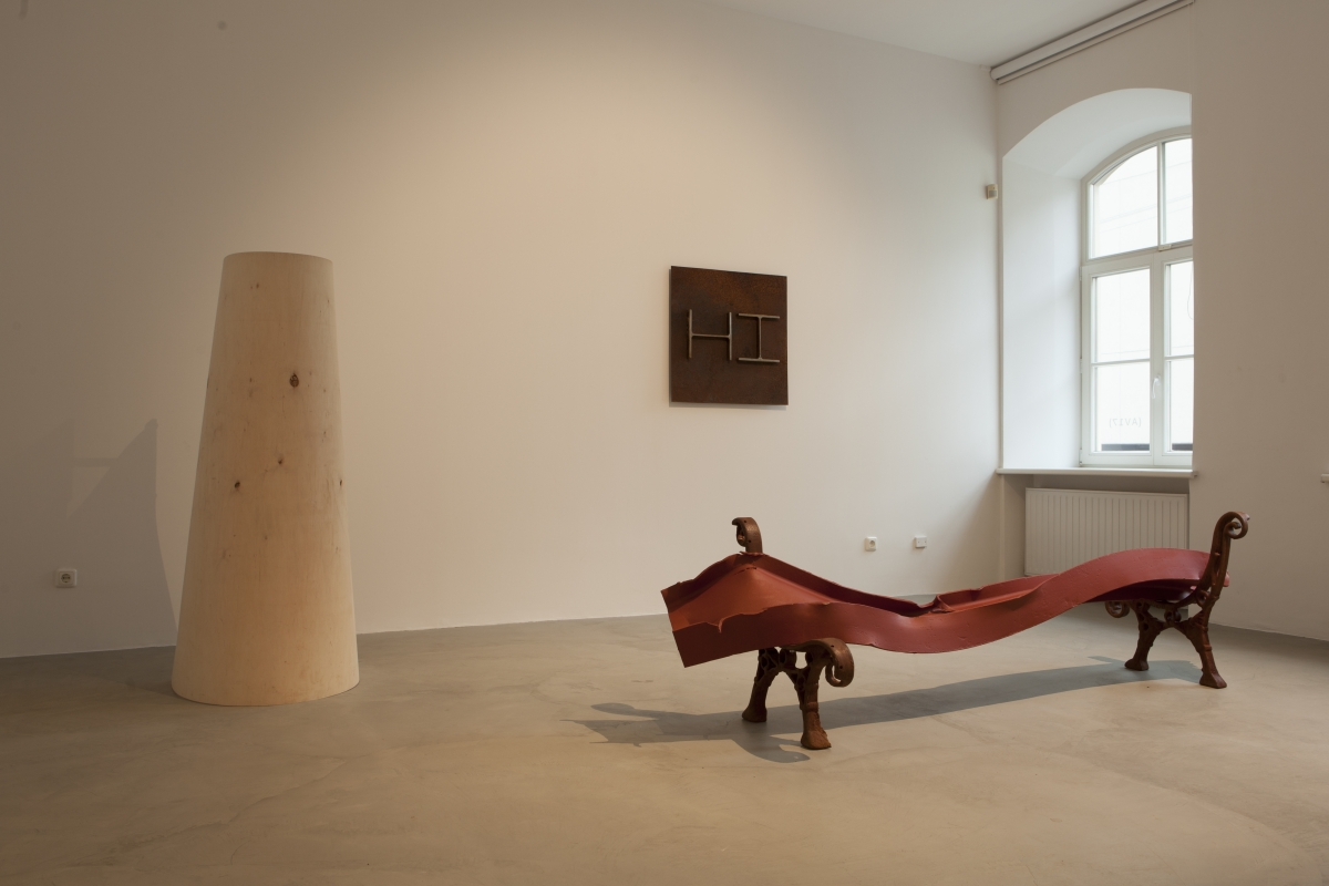 Fragment from Rimantas Milkintas exhibition _Almost noon_