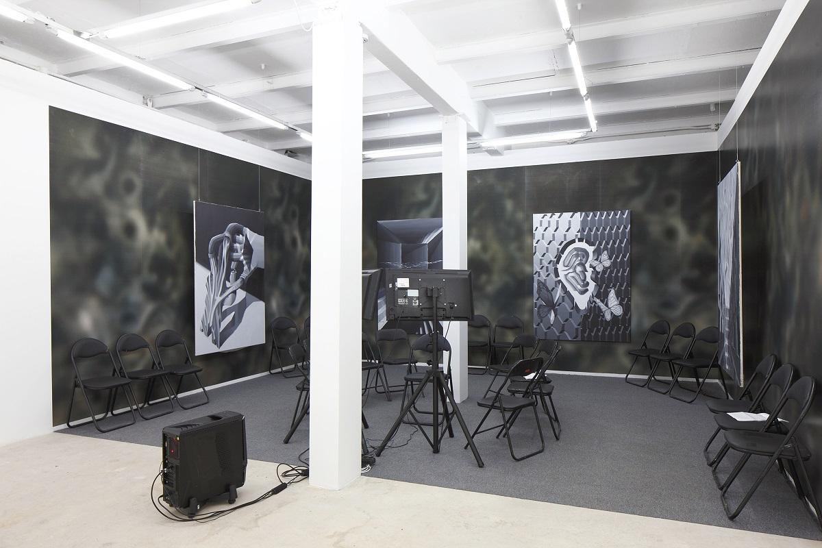 Stairway to Melon, exhibition view, kim? Contemporary Art Centre, Riga, 2017