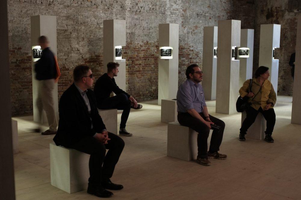 Miķelis Fišers, What Can Go Wrong, Latvian Pavilion, 57th Venice Biennale, 2017. Photo: Mārtiņš Grauds
