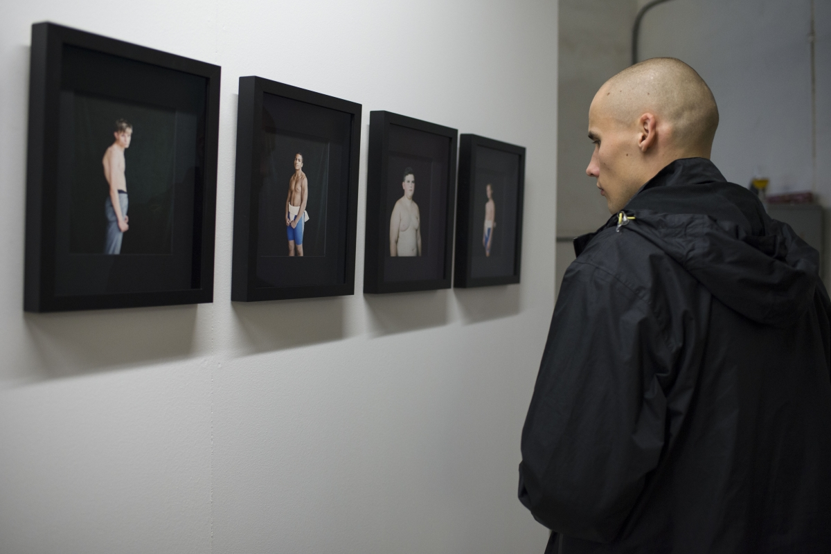Opening of Estonian Photographic Art Fair Telliskivi Creative City. Photo: Mari Armei