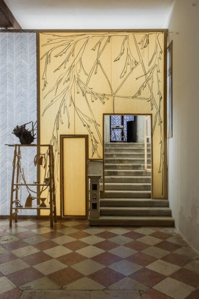 "Žilvinas Landzbergas ""R"", Lithuanian Pavilion, 57th Venice Art Biennale, 2017. Photo: Andrej Vasilenko"