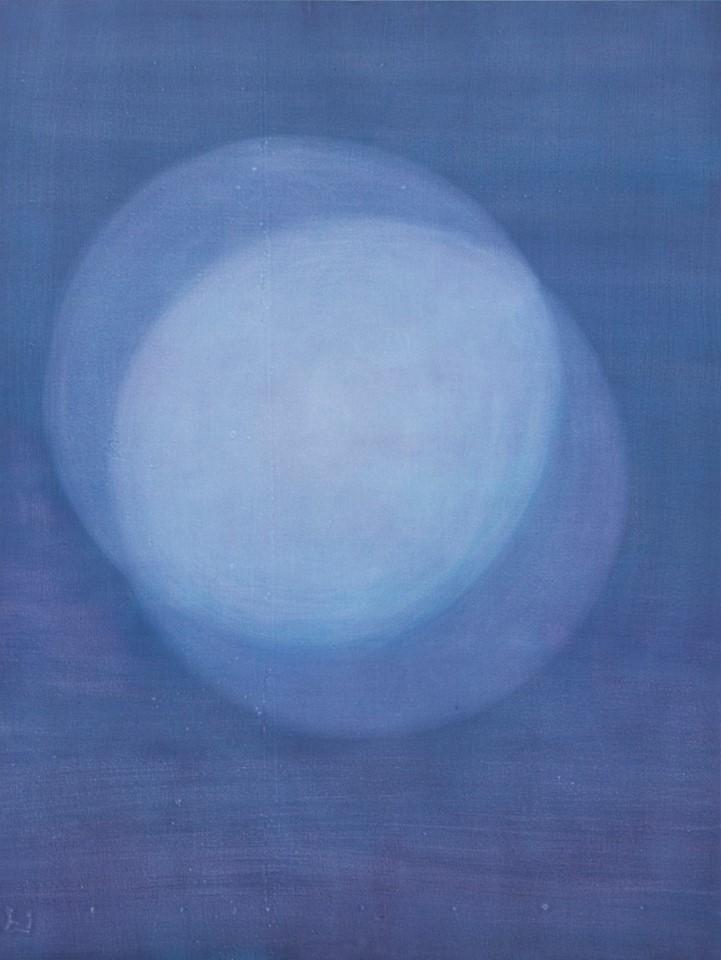 Rosanda Sorakaitė, Overlapped, acrylic and oil on canvas, 200 x 150 cm, 2017