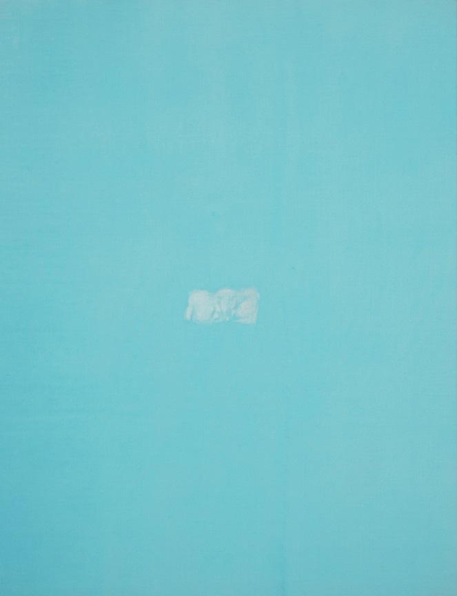 Window. Sea, 2017, oil on canvas, 130 x 100 cm
