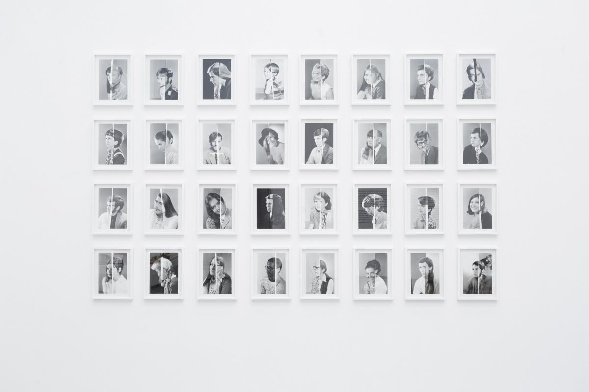 Joachim Schmid. Photogenetic Drafts, 1991-2014. Photo: Andrejs Strokins. Latvian Centre for Contemporary Art, 2017