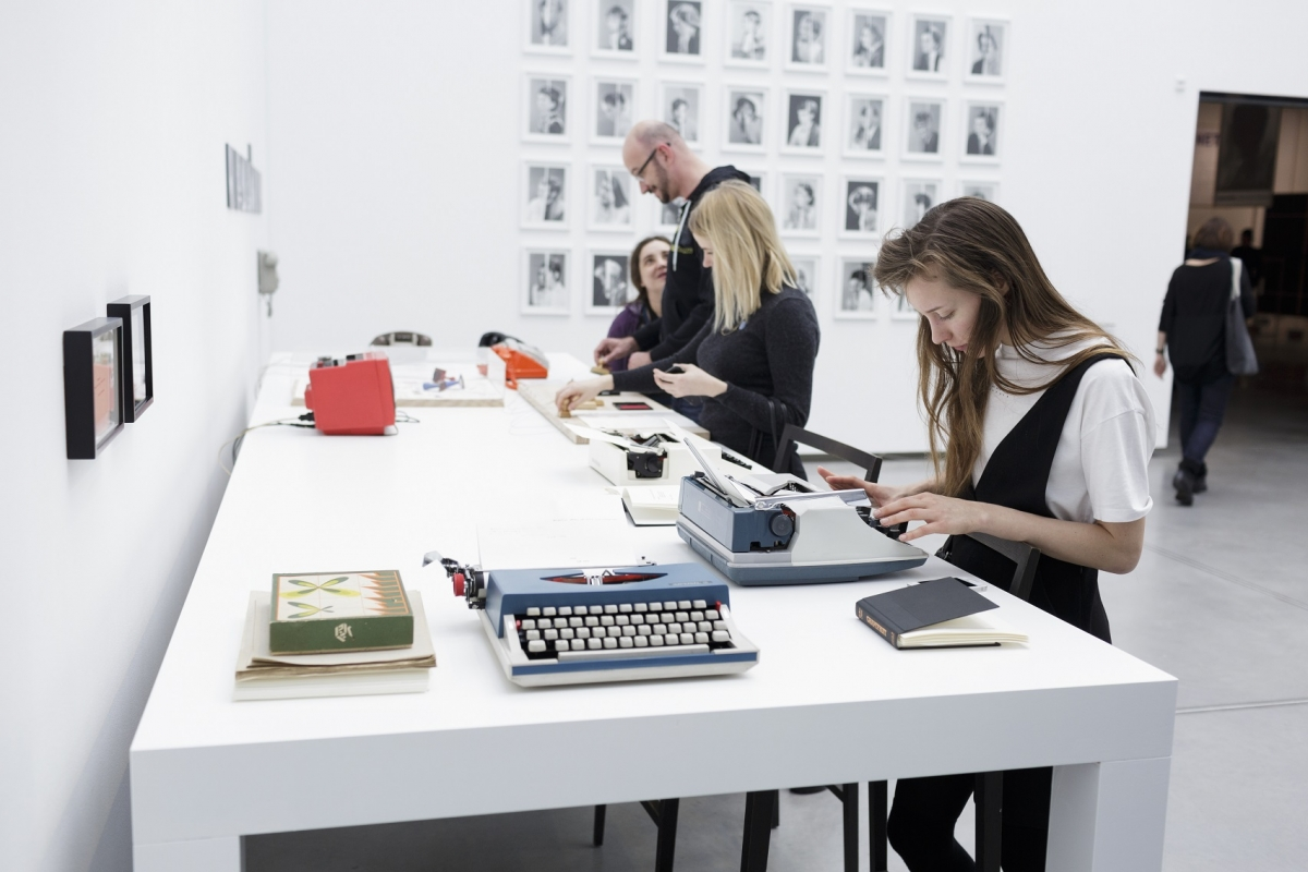 Exhibition view. Photo: Kristīne Madjare. Latvian Centre for Contemporary Art, 2017