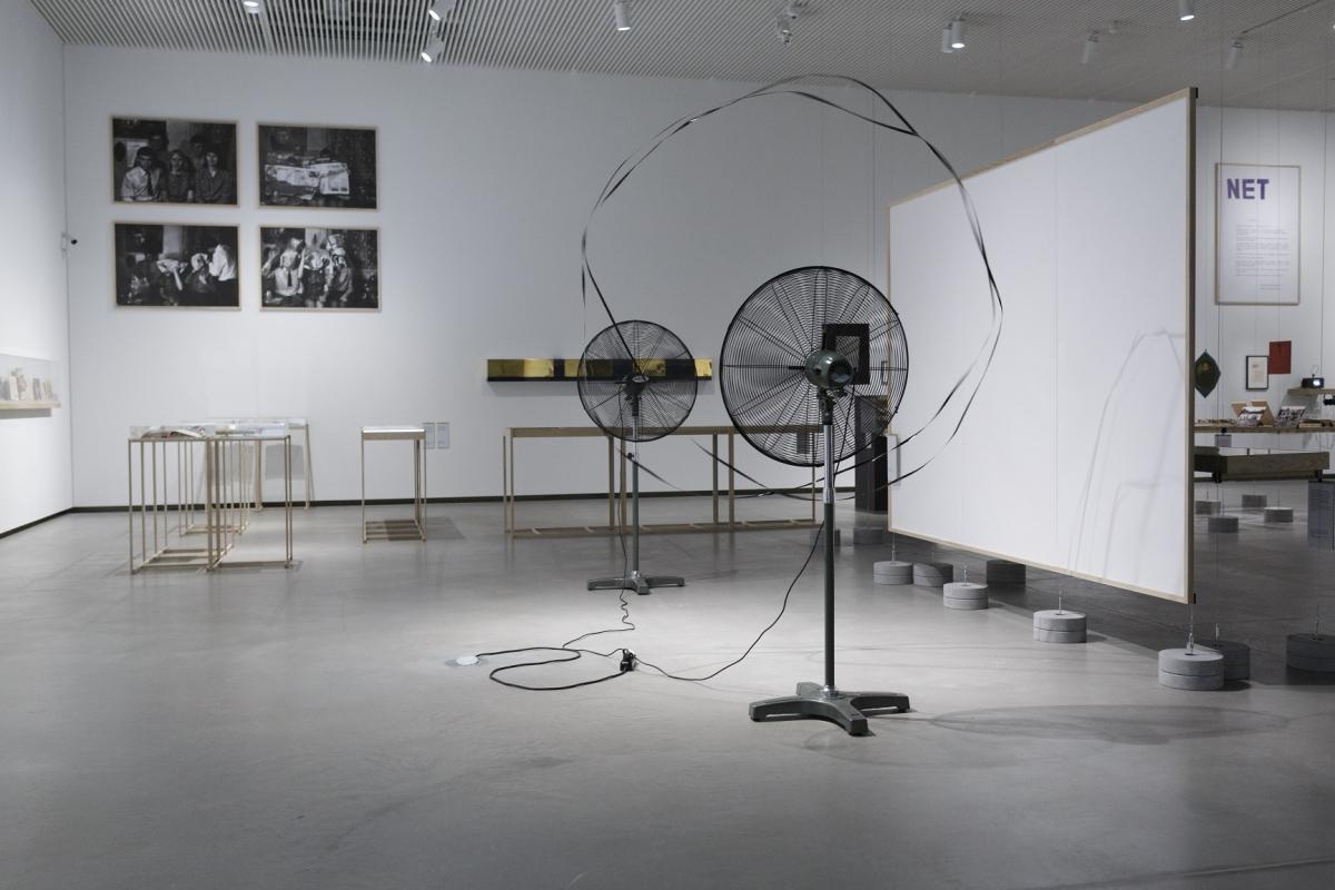 Žilvinas Kempinas. Double O, 2008. Photo: Andrejs Strokins. Latvian Centre for Contemporary Art, 2017