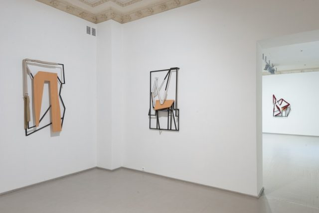 Indrikis Gelzis, Rest and Vest, exhibition view, 2017, Vartai Gallery