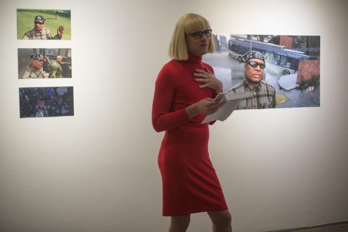 Margrieta Griestiņa, Daggy's Last Selfie, 2017, opening performance