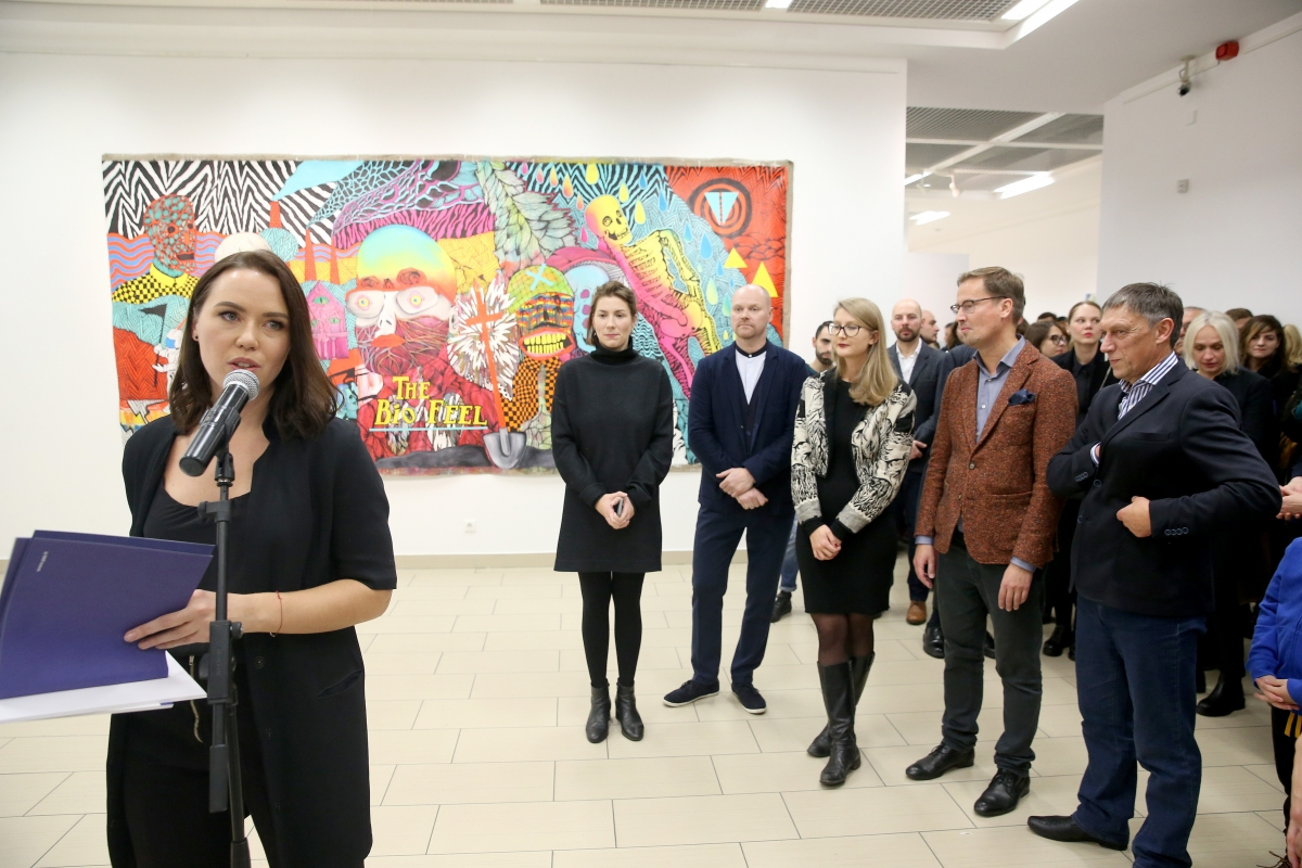 Young Painter Prize award ceremony. Photo: Young Painter Prize