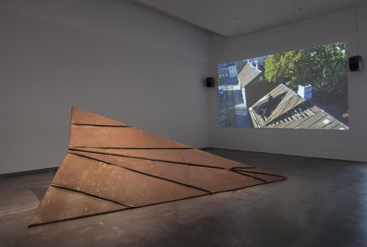 Flo Kasearu, Uprising, 2015, Uprising (The Aircraft), 2015, photo: Finnish National Gallery/Pirje Mykkänen
