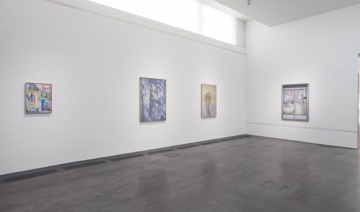 Inga Meldere, Installation view, photo: Finnish National Gallery/Pirje Mykkänen