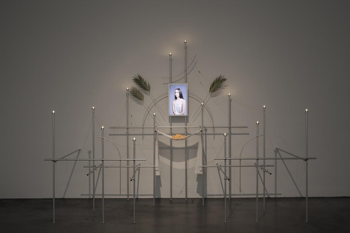 Daria Melnikova, Room 3. Follow me, 2015, installation, measures variable, Collections, photo: Finnish National Gallery/Pirje Mykkänen