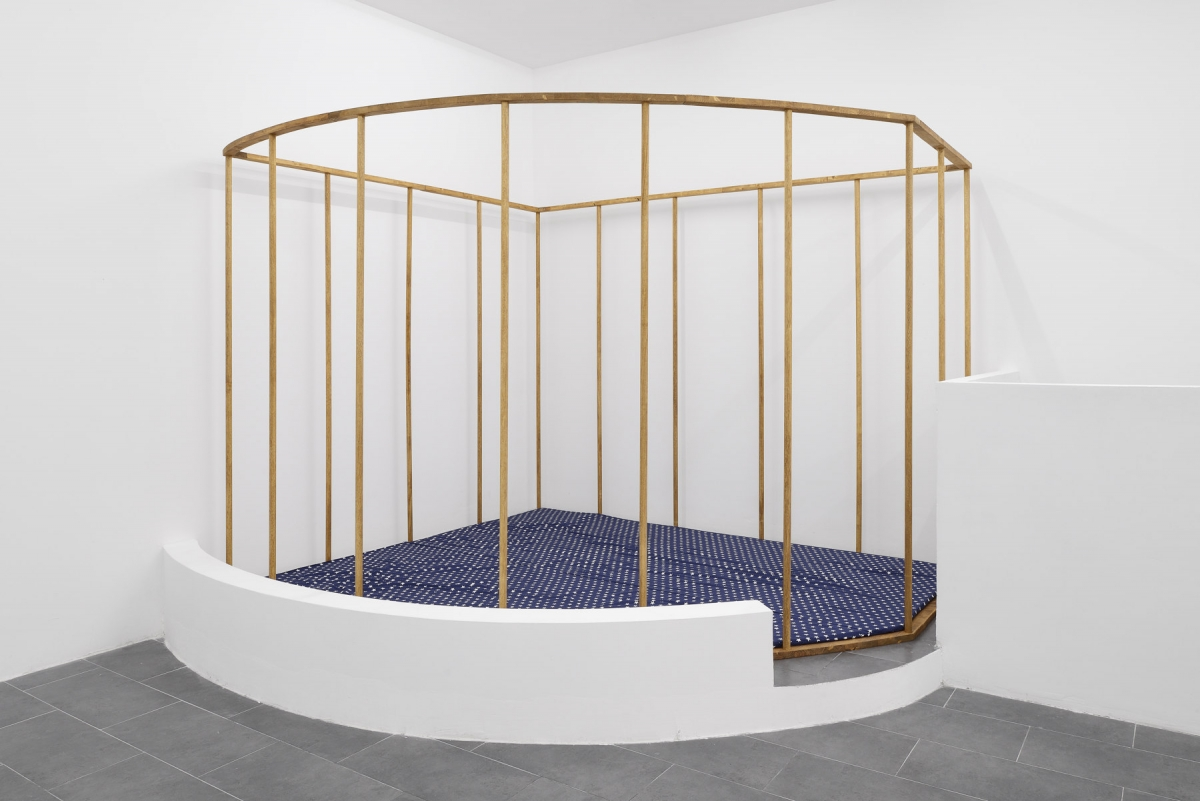 Anna-Sophie Berger, The Nest Is Served, 2017. Courtesy of the artist and Emanuel Layr Gallery. Photo: Roberto Apa