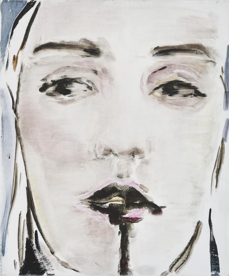 Portrait, oil on canvas, 60x50, 2017
