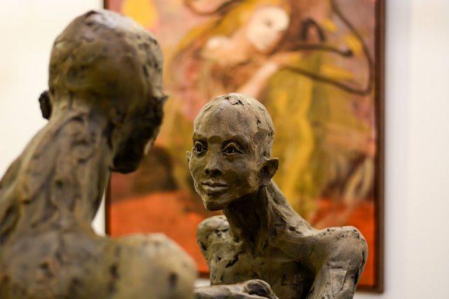 Art Vilnius 2017,  Galerija Menu Tiltas, Vilnius. From personal Rūta Jusionyte archive