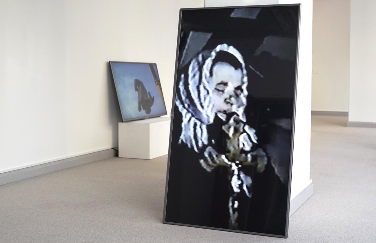Sandra Kazlauskaitė, 13.1.91, 2016. multi-channel audio & video installation, photo from artist archive