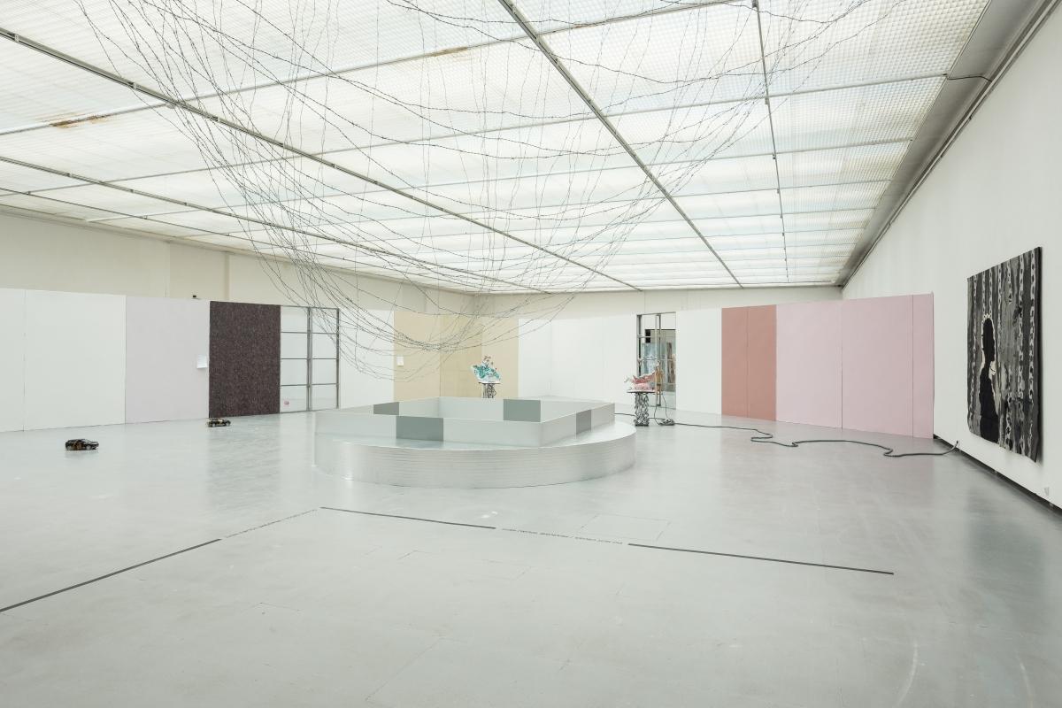 Architecture by DIOGO PASSARINHO, works by NINA BEIER, MELVIN EDWARDS and KATJA NOVITSKOVA