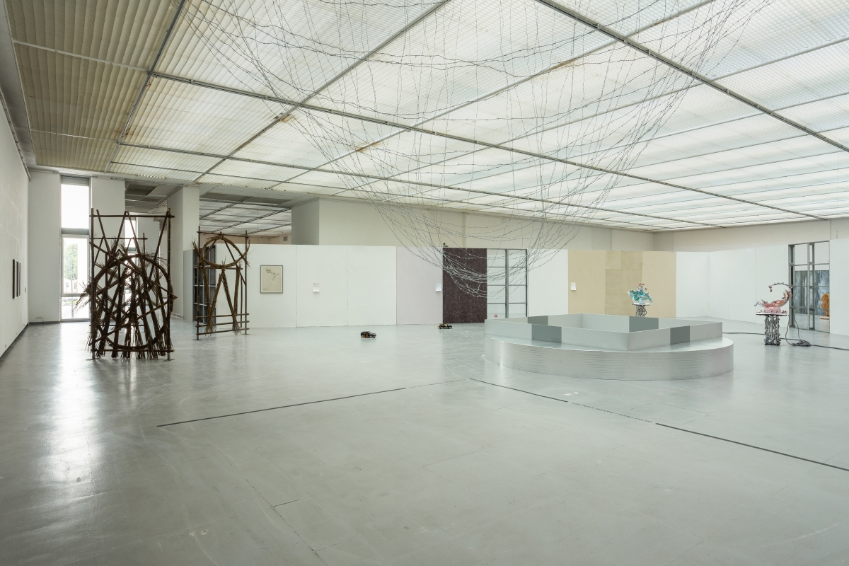 Architecture by DIOGO PASSARINHO, works by NINA BEIER, MELVIN EDWARDS, KATJA NOVITSKOVA and CAROLINE ACHAINTRE